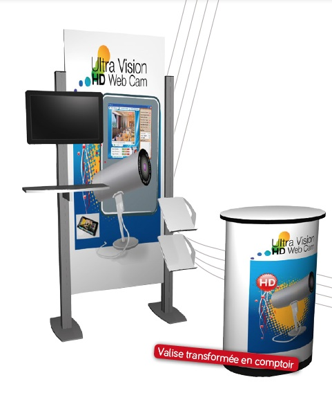 Stand Nomadic - Support Multimédia - Poste de travail